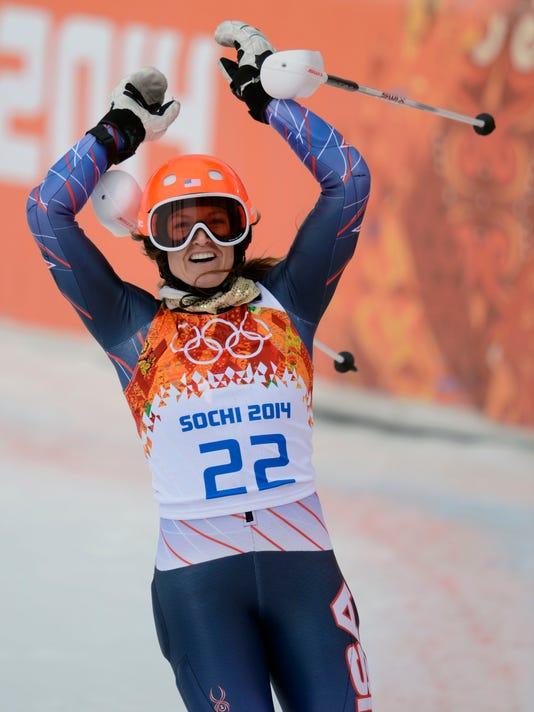 2014-2-10 julia mancuso slalom