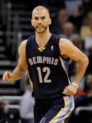 Grizzlies guard Nick Calathes was suspended 20 games for testing positive for tamoxifen.