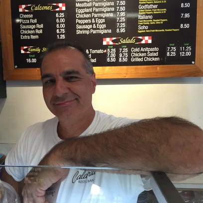 Anthony Ripani owns Calabria Restaurant in the Town