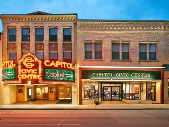 Capitol Civic Centre exterior.