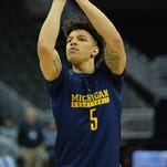 Michigan's D.J. Wilson appreciates John Beilein's support through the NBA draft process