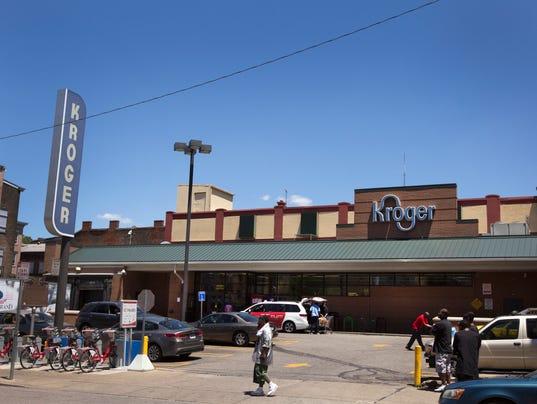 June 6, 2017: Kroger, Randy McMullen, Kroger, downtown grocery story, Cincinnati, 3CDC, John Cranley, Over-The-Rhine, Vine Street, Liz Dufour