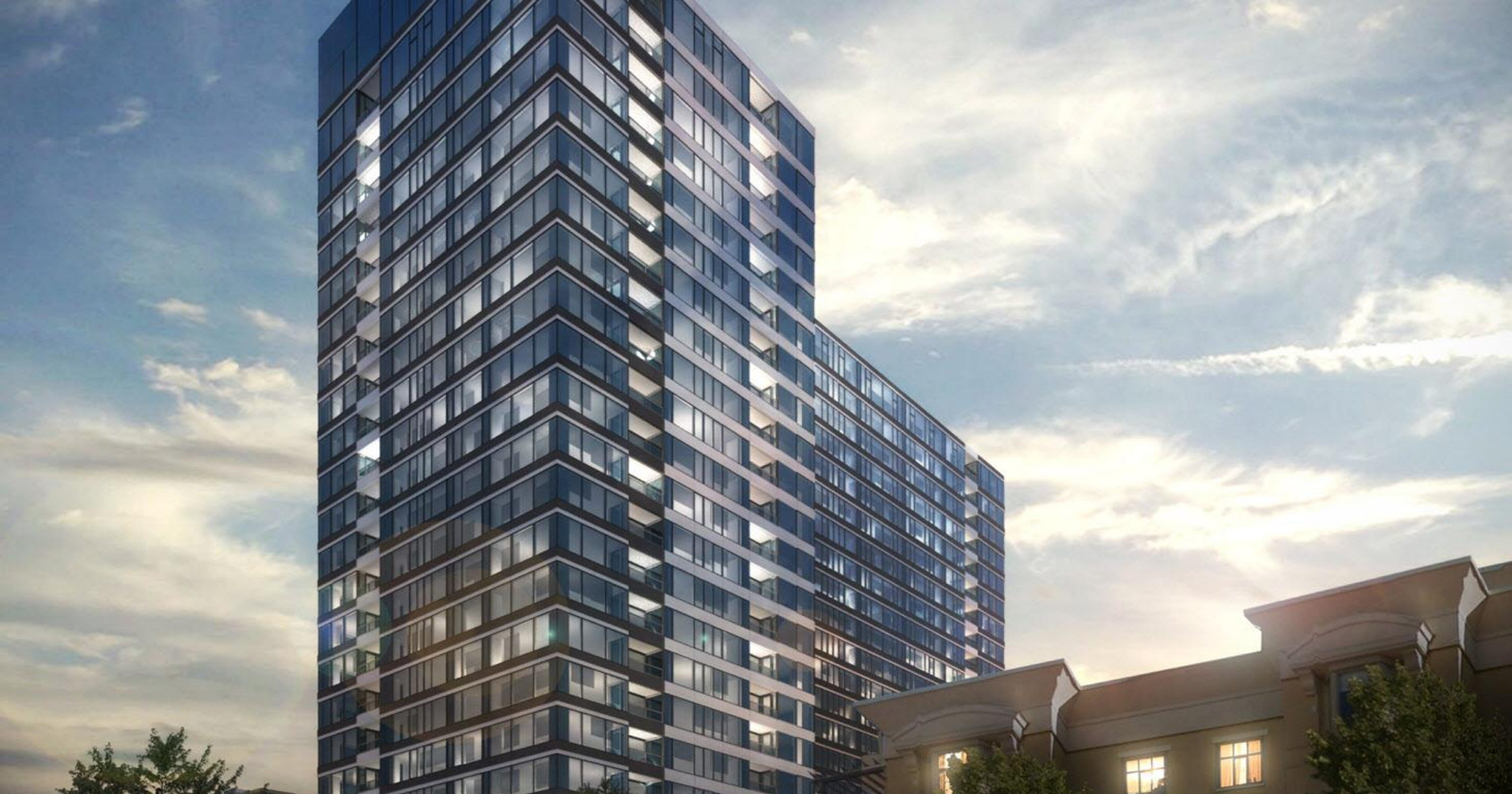 Mandel unveils $100 million luxury apartment tower for east side