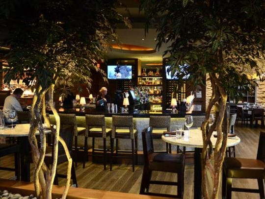 Interior looking toward the bar at Mesh, 3608 Brownsboro