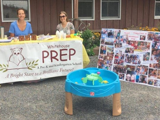 Pictured are Peggy Zabroski and Stephanie Tamn from