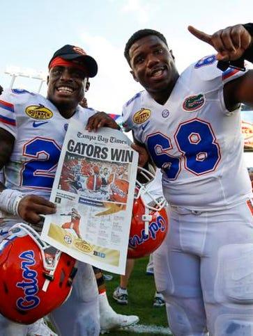 Florida Gators defensive back Chauncey Gardner (23)