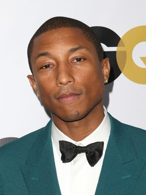 Pharrell Williams releases a 24-hour long music video for the smile-inducing song 'Happy.'