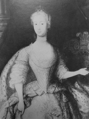 Princess Augusta, city namesake and mother of King George III.