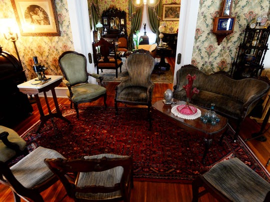 The Davis Home is decorated with antiques.