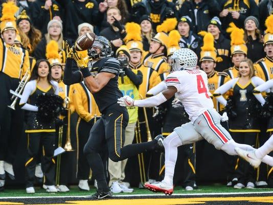 NCAA Football: Ohio State at Iowa