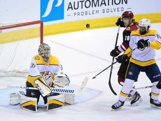 NHL: Nashville Predators at Arizona Coyotes