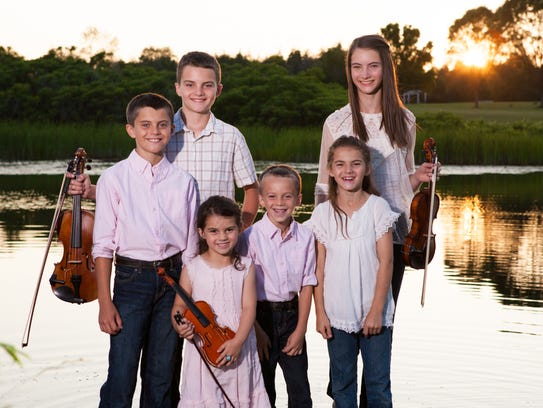 The six siblings of The Next Generation Leahy.