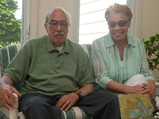 Melvin Harris and his wife, Clara, are each retired