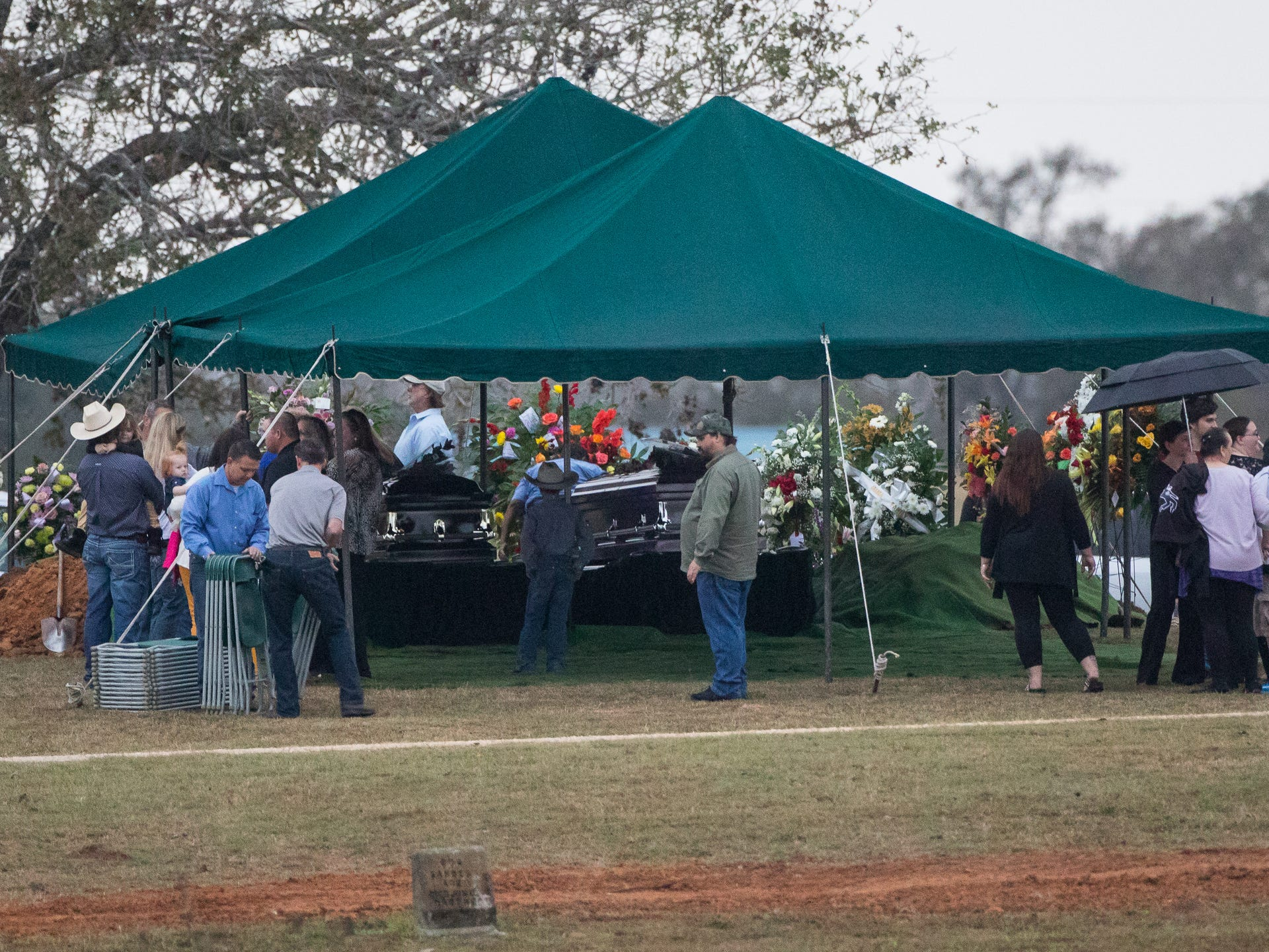 First Baptist Church shooting victims laid to rest