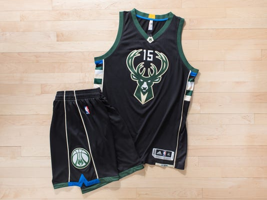 22a04aa2d62 Fear the Deer uniform. The Milwaukee Bucks' ...
