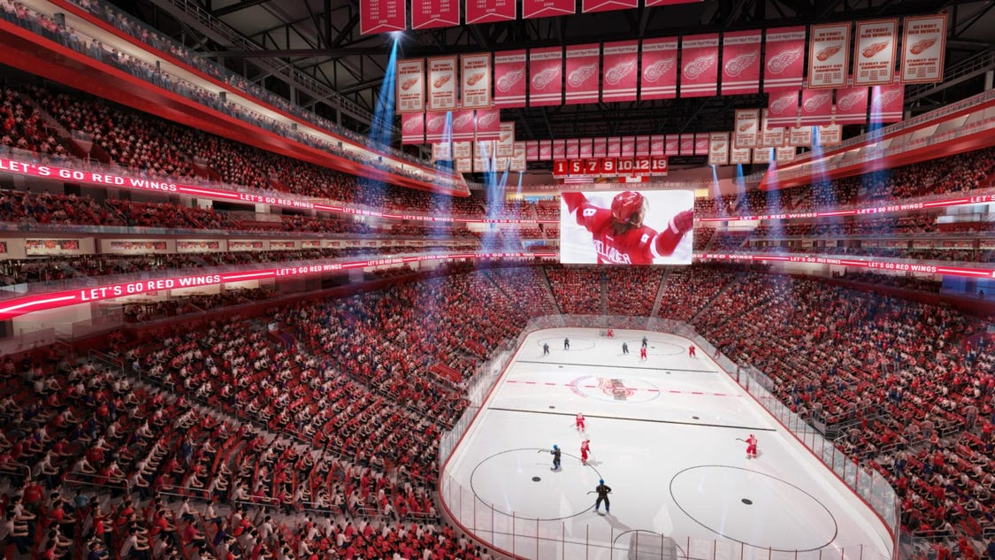 Detroit Red Wings New Arena Preview 48