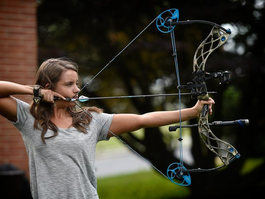 Bowhunter and Cleona native Emily Kantner is living her dream. The Lebanon Valley College graduate is being paid to hunt, and write about her experiences for Petersen's Bowhunting magazine.
