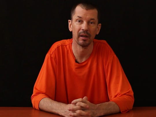 British journalist John Cantlie appears on a video