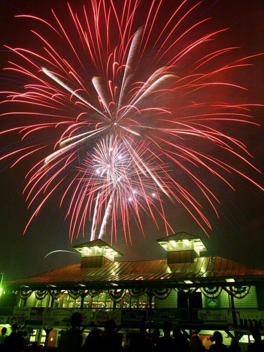 local burlington fireworks glenn