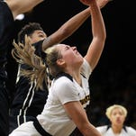 After home stumble, No. 20 Iowa heads back out on Big Ten trail