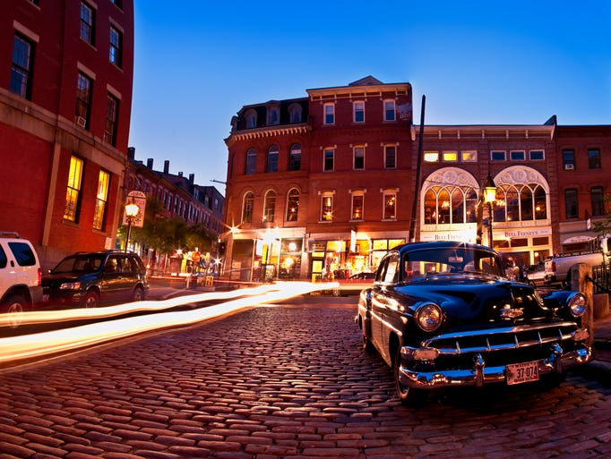 A car free getaway in portland maine - Portland maine hotels old port district ...