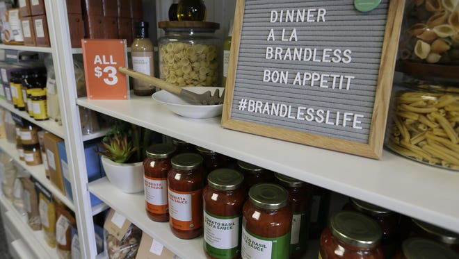Everything on Brandless costs $3, whether it's the organic virgin coconut oil or the tissues made of sugar cane and bamboo grass.