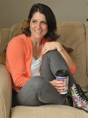Author Jaimie M. Engle at home. Her anti-bullying book
