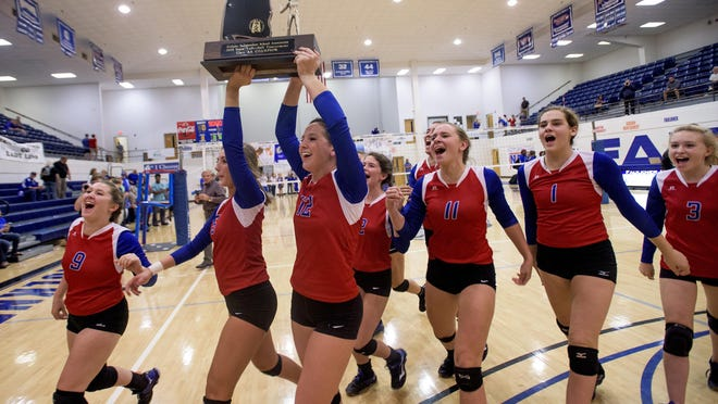 Macon-East players could win its sixth straight AISA state title on Thursday.