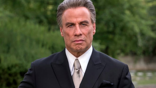 "Travolta played John Gotti in the mobster biopic ""Gotti."""