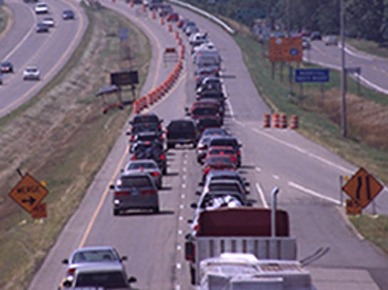 The zipper merge is a more efficient way to handle lane closures.