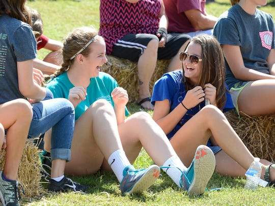 The 5th annual Bridge Bash brought more than 3,500 people out to Cotter on Saturday. Bridge Bash is organized by the Food Bank of North Central Arkansas.