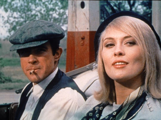 Warren Beatty and Faye Dunaway in 'Bonnie and Clyde.'