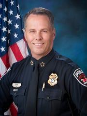 Murfreesboro Police Department Chief Karl Durr