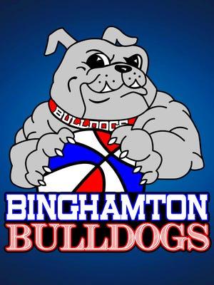 Binghamton Bulldogs logo.