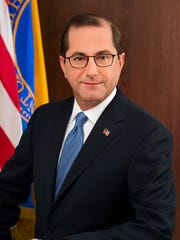 Alex Azar, secretary, U.S. Department of Health and