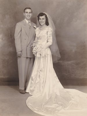 Nearly 70 years ago, Robert and Millie Laird, of Erie, were married at the altar of St. Paul Evangelical and Reform Church and then had cake and coffee as a celebration.