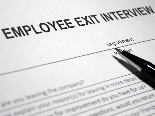 Exit interviews are often forgotten and overlooked