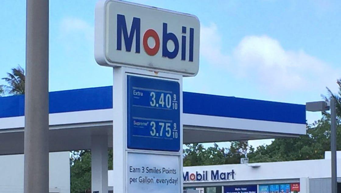 Mobil Gas Card >> Mobil, 76/Circle K raise gas prices to $3.41 per gallon