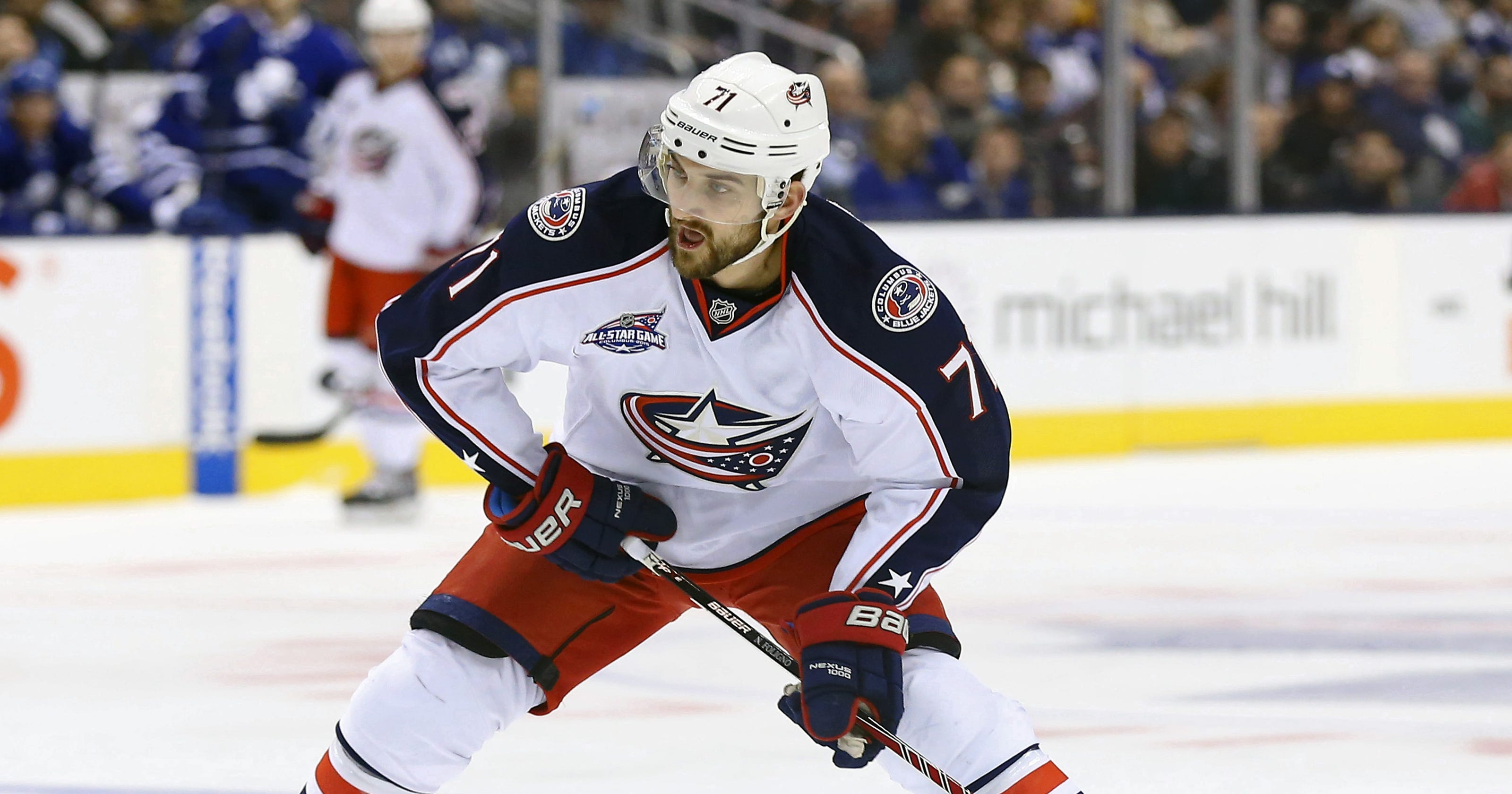 the latest 0fdbd 48d85 Nick Foligno, Jonathan Toews named All-Star captains