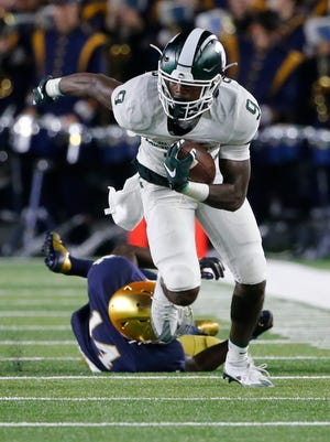 Donnie Corley and the Spartans host Wisconsin in a Big Ten showdown.