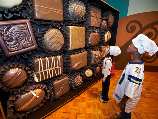 """Chocolate,"" an exhibit created by The Field Museum,"