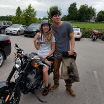 Channing Tatum swings through Kentucky and gives away a Harley