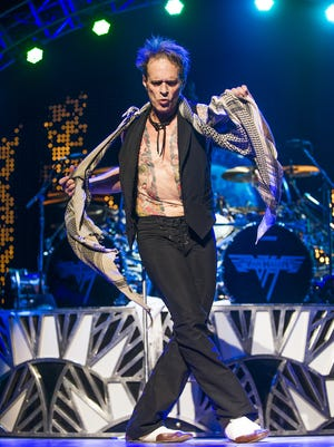 David Lee Roth danced during the Van Halen concert in September of 2015 at Ak-Chin Pavilion in Phoenix. The musician will perform at the KISS concert in El Paso.