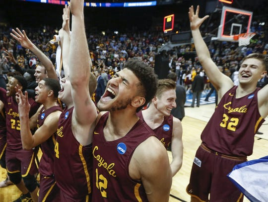Michigan will face Loyola-Chicago, the No. 11 seed