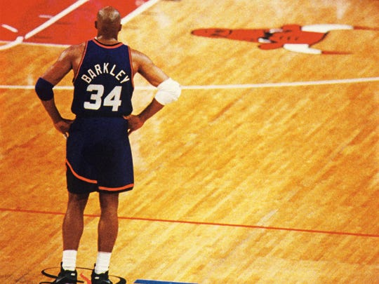 Charles Barkley led the Suns to the 1993 NBA Finals.