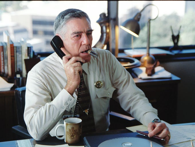 R. Lee Ermey in a scene from the motion picture Man