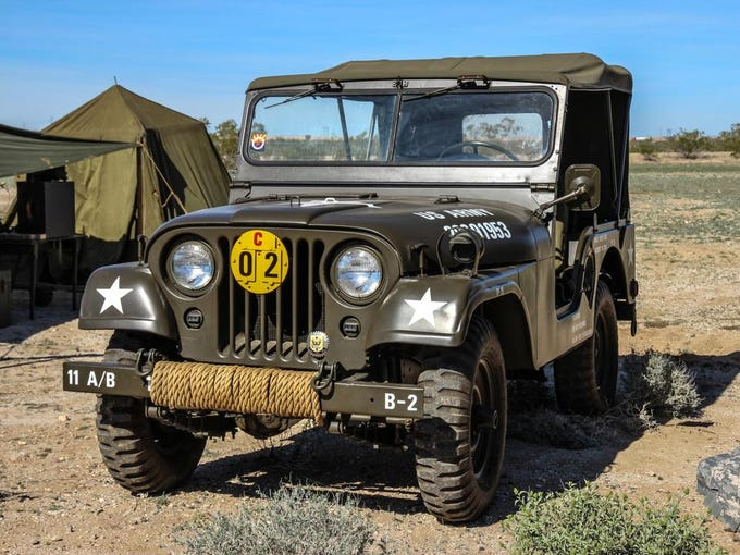 Tanks, Jeeps and more at Arizona Military Vehicle Show