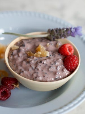 Treat mom to a light Forbidden Rice Pudding for Mother's Day.