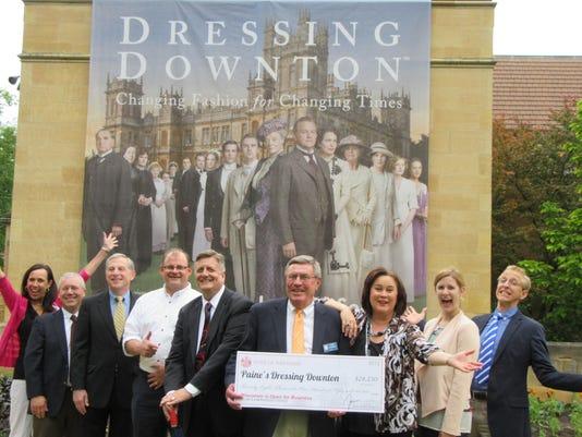 Paine's Dressing Downtown Exhibit, $28,250