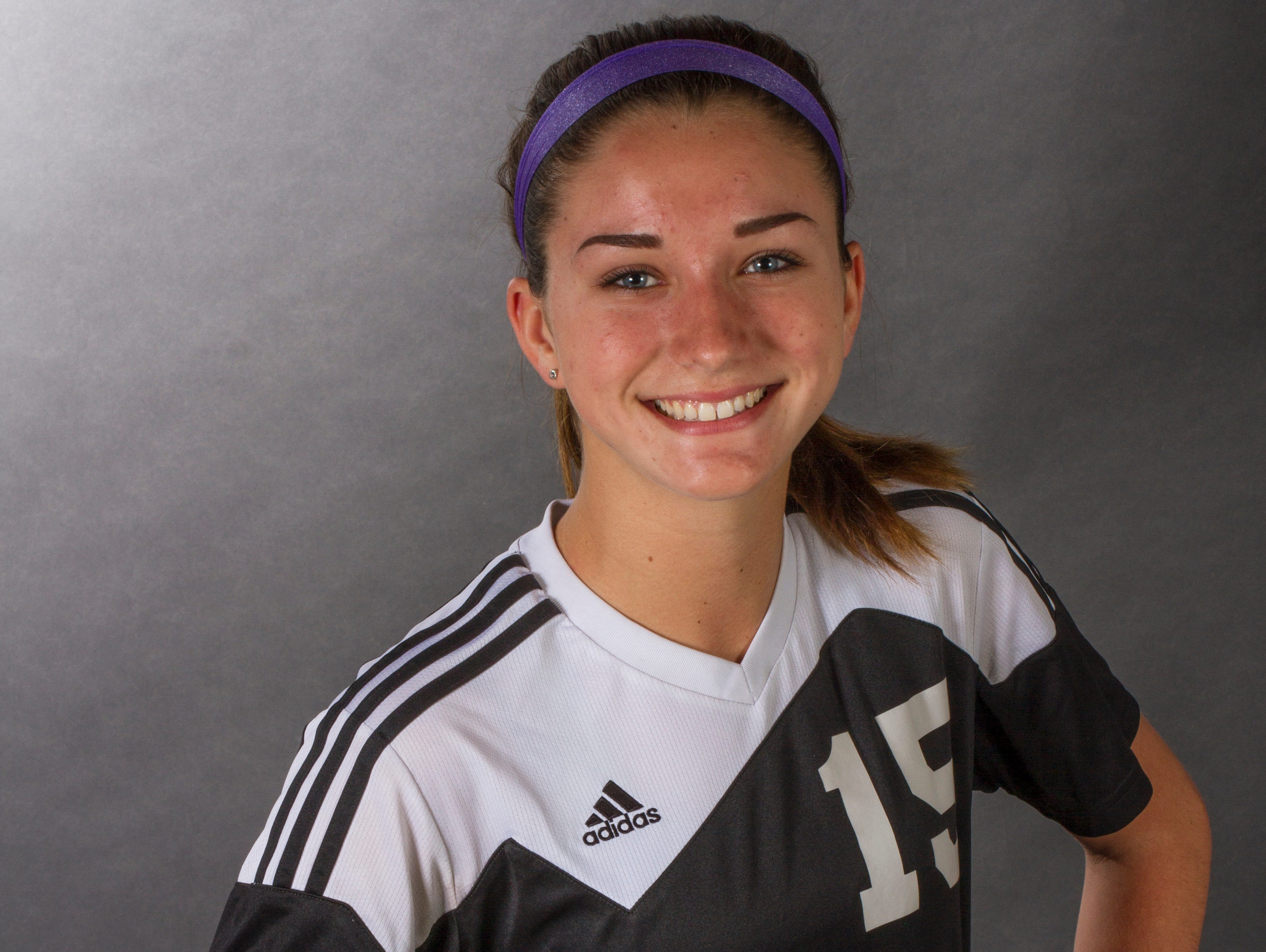 Taylor Yount, 15, is a freshman soccer player at Mariner High School.